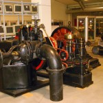 """3A - Turbina eccitatrice, oggi situata al """"museo della tecnica elettrica dell'università di Pavia"""""""