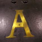 """1A - Simbolo turbina eccitatrice, oggi situata al """"museo della tecnica elettrica dell'università di Pavia"""""""