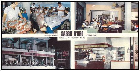 1968 il mio primo lavoro importante albergo Sabbie D'oro