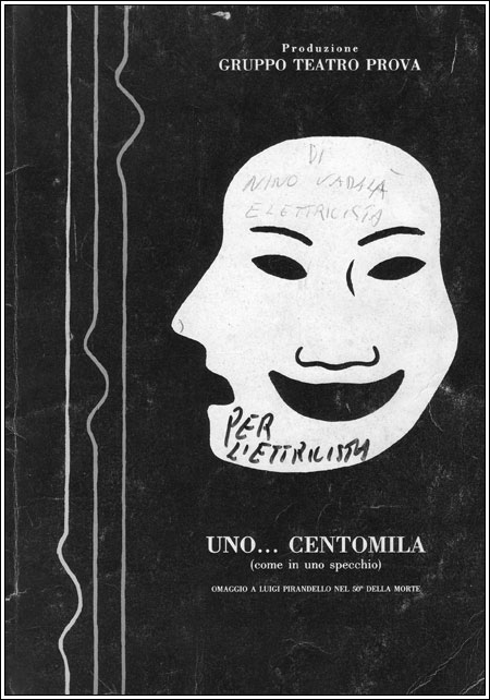Gruppo teatro prova 1986