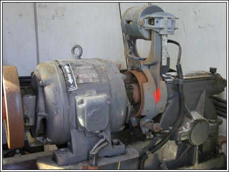 Motore ascensore anni 50