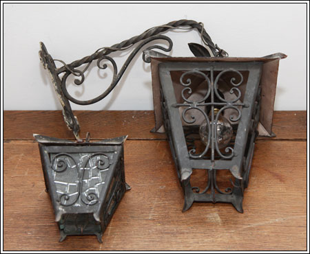 Lanterne in ferro battuto