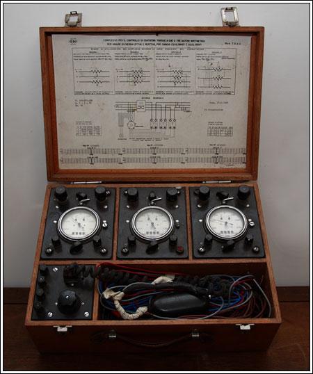 Controllo contatori trifase anni 60