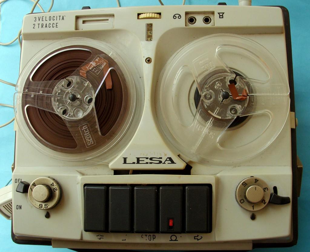 Il mio registratore anni 60. Zoom