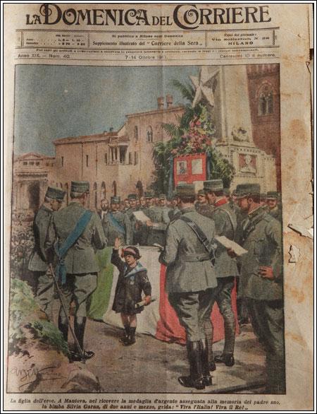 1/3 - La domenica del corriere del 7/14/ottobre 1917
