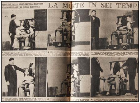 Negli Stati Uniti l'elettricità serviva anche ad eseguire la pena di morte