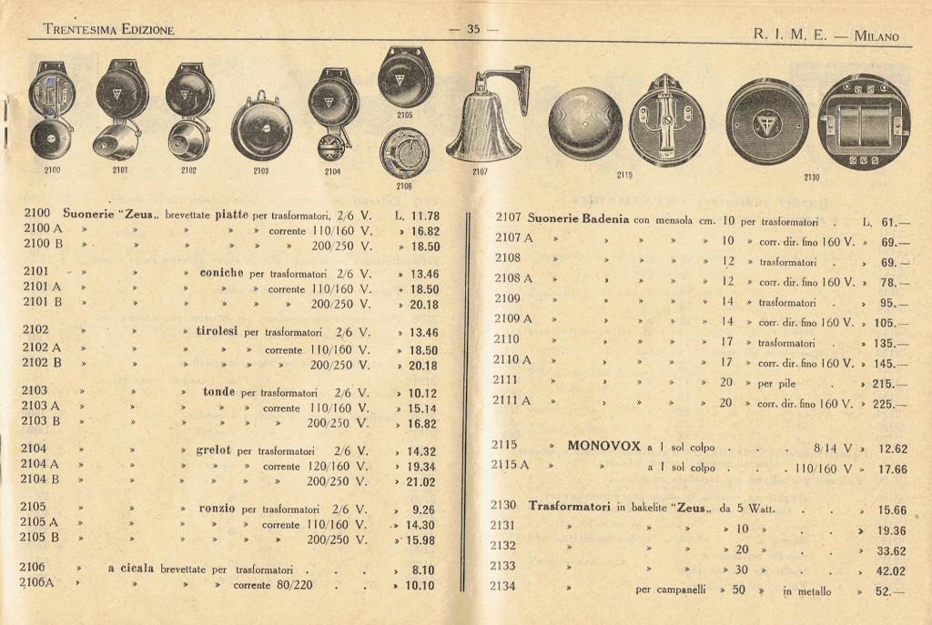 catalogo-rime-1937-materiale-elettrico-milano-001-coprire-indirizzo-sezione-cataloghi-e-libri-3