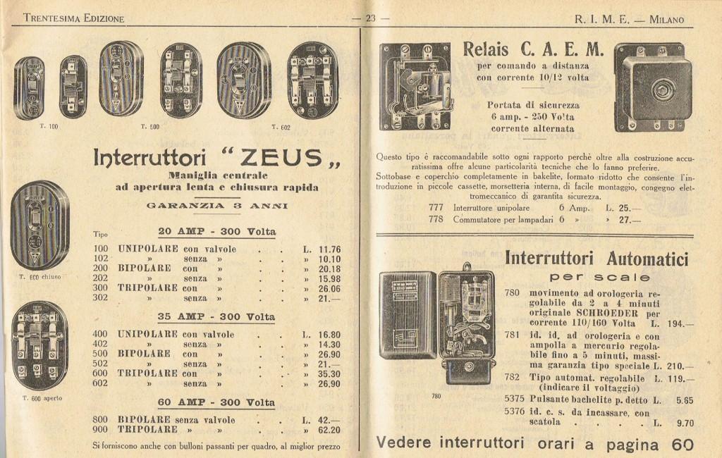 catalogo-rime-1937-materiale-elettrico-milano-001-coprire-indirizzo-sezione-cataloghi-e-libri-4