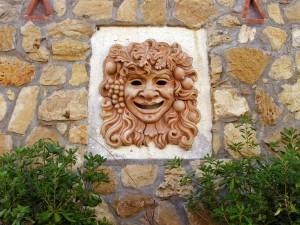 Maschera in Terracotta