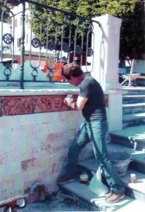 Bassorilievo Piazza Municipio Giardini Naxos
