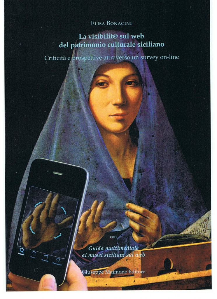 Copertina pubblicazione Elisa Bonacini