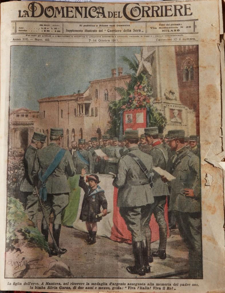 La Domenica del Corriere del 7-14 Ottobre 1917. Zoom