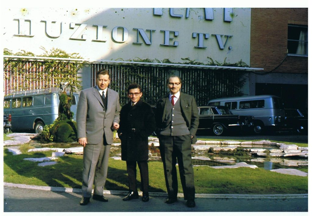 1968-centro-produzione-rai-da-sinistra-filippo-sperandio-rai-roma-joe-de-bono-di-malta-giorgio-schinigoi